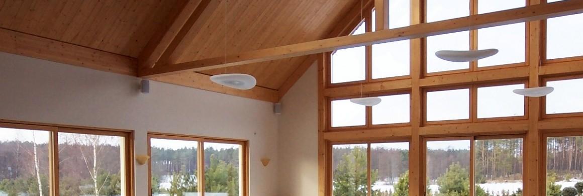 Okna drewniane ei60